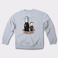 Potter Unisex Ugly Sweatshirt Cartoon Art Sweater Pullover Jumper Long Sleeve