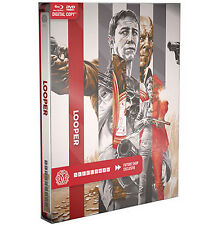 Looper Blu-Ray DVD Steelbook Mondo Canada Import Exclusive Regular Edition | NEW