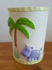 Jungle Tumbler with animals hippo and mouse NEW