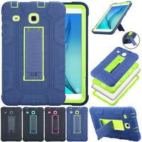 Hybrid Hard Shockproof Kickstand Case For Samsung Galaxy Tab E 9.6 / 8.0 / 7.0