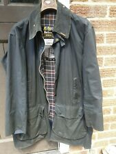 Barbour wax jacket large