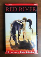 RED RIVER Volume 11 Chie Shinohara Viz Media manga Mature Content Shojo OOP Rare