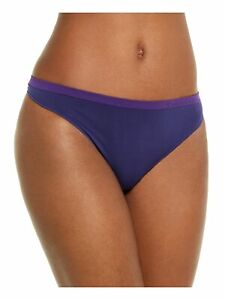 CALVIN KLEIN Intimates Purple Solid Romantic Thong Size: S