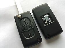 Coque de clé PLIP télécommande Peugeot 1007 * 807 * 4 boutons RÉFÉRENCE : CE0523