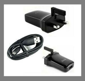 HTC MAINS CHARGER ADAPTER & MICRO TYPE C - USB DATA CABLE FOR HTC ANDROID PHONES