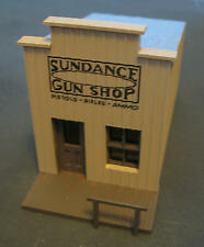 Sundance Gun Shop - OLD WEST - HO-302 -Easy to build HO Scale kit by Randy Brown