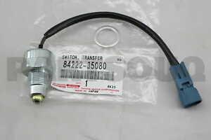 8422235080 Genuine Toyota SWITCH, TRANSFER INDICATOR, NO.1 84222-35080