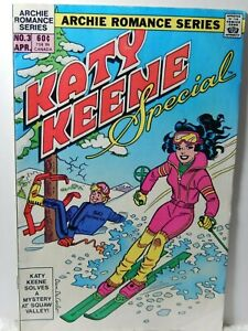Katy Keene Special comic Book No. 3 1984 with Paper Doll Archie Romance series