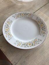 "4 CARLTON China Concerto Floral Dessert Or Bread Plate 6 3/4"""