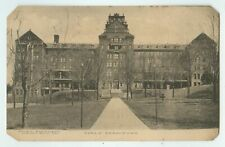 1911 PC Girls Dormitory Mansfield State Teachers College PA Areoplane Wreck Note