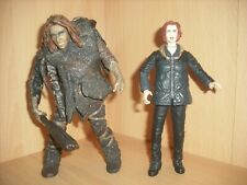Mcfarlane X-Files Agent Scully With Primitive Man Action Figures Vintage