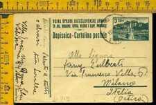 Occupazioni 1946 Istria Litorale Sloveno intero postale cartolina x Milano