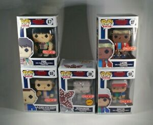 Funko Pop Stranger Things 8-Bit 5-Pack with CHASE Target Exclusive Arcade