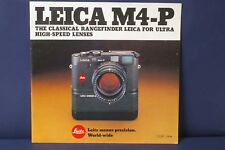 F66127~ Leica M4-P 23 Page Brochure – Very Clean