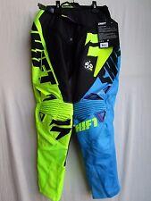 MENS adult motocross SHIFT FACTION pants 32,   16512-178-32