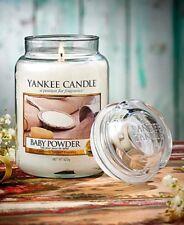Yankee Candle Baby Powder  Large Jar 22oz