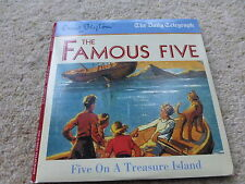 ENID BLYTON FAMOUS FIVE ON A TREASURE ISLAND CHILDREN'S  PROMO AUDIO BOOK CD