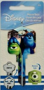 Monsters Inc - Mike and Sully House Key Blank - Collectable Key - Disney - Pixar