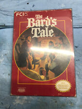 The Bard's Tale NES Complete CIB Nintendo TESTED 1987 Free US Shipping!