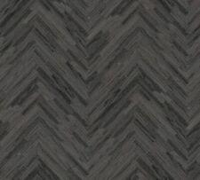 Versace 4 Home Wallpaper 370514 Fischgrät Mäander grau Tapete Vliestapete