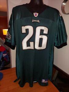 Lito Sheppard #26 Philadelphia Eagles Reebok NFL Sewn Jersey Mens Size 54 3XL