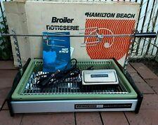 VTG Hamilton Beach SCOVILL 325 SMOKELESS Countertop Rotisserie Broiler COMPLETE