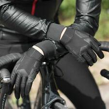 RockBros Spring Summer Cycling Gloves Full Finger Gloves Touch screen Black New