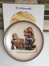 "Goebel M J Hummel ""Pleasant Journey"" Miniature Plate with Original Box,Germany"