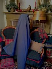 VERY LUX Blue / Gray CASHMERE DESIGNER UPHOLSTERY AND DRAPERY FABRIC! ($249 RET)
