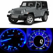 Blue LED Kit  Instrument Cluster Speedometer Light For 1997-2006 Jeep Wrangler