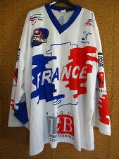 Maillot CNRILH roller Hockey Equipe de France Cit Dessaint Jersey Vintage - XXL