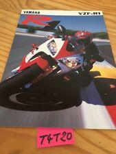 Yamaha YZF-R1 1000 R1 YZF prospectus moto brochure prospekt catalog dépliant