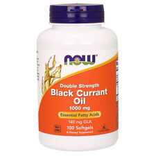 Black Currant Oil, 1000mg x 100 Softgels, Dbl Str - NOW Foods