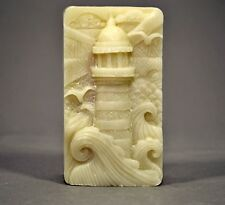 LIGHTHOUSE SILICONE MOULD SOAP RESIN PLASTER CLAY WAX MOLD  5,5OZ SEASIDE