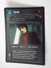 Star Wars CCG - Reflections II -  DS FOIL -  Sim Aloo