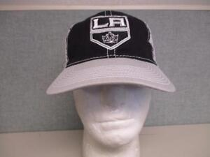 New Los Angeles LA KINGS Mens Adult OSFA Reebok Trucker Snapback Hat $20