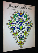 Antique Lace Patterns by Frances M. Bradbury, International Design Library, S/C