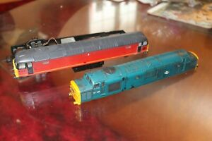 hornby 00 gauge diesel bodies and chassis-needs attention.