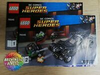 LEGO - INSTRUCTIONS BOOKLET ONLY Kryptonite Interception - Super Heroes - 76045