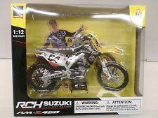 NEW RAY 1/12 - MOTO RM-Z 450 SUZUKI RCH - KEN ROCZEN