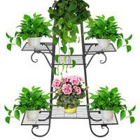 Floors Flower Stand Large Iron Art Indoor Landing Plant Planter Stand Pot Rack