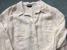 Autograph Ladies Long Sleeved Linen Blouse Size 14 New