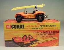 Corgi toys whizzwheels 395 g.p. Beach Buggy Fire bug OVP #287