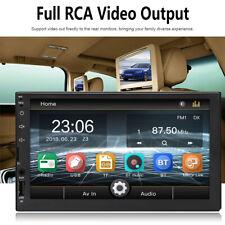 Stereo Car Radio 7 Bluetooth AUX/USB/FM 2 Din Head Unit MP5 Player Touch Screen