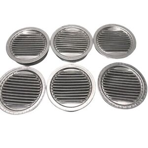 Air Vent 3.5-in L Mill Aluminum Soffit Vent Die Stamped Grill Tooled Aluminum