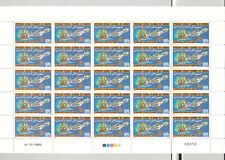 Comoros #619-622 Rotary, Space, Aviation 4v M/S of 25