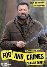 Fog And Crimes TV Series Complete Season 3 DVD NEW!
