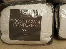 Hotel Collection European White Goose Down Comforter Medium Weight Full/Queen