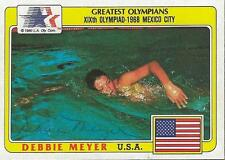 Debbie Meyer 1983 Topps USA Olympic Autograph #82
