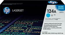 1x tóner HP Color LaserJet 124a 1600 2600n 2605 DN dtn cm 1015 mfp1017 cartucho